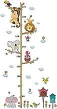 Adesivo de parede BESPORTBLE 1 peça de medida de altura adesivo de parede de animal para jardim de infância, escola e quar...