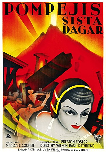 Last Days of Pompeii Movie Poster Masterprint (60,96 x 91,44 cm)