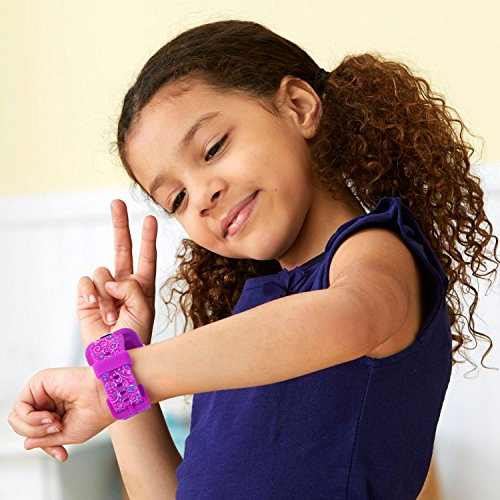 VTech KidiZoom Smartwatch DX2 Special Edition Floral Birds with Bonus Vivid Violet Wristband, Great Gift For Kids, Toddlers, Toy for Boys and Girls, Ages 4, 5, 6, 7, 8, 9 4