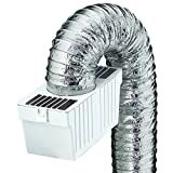 Best Gas Dryer Vents - Deflecto Dryer Lint Trap Kit, Indoor Venting Review