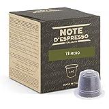 Note d'Espresso - Cápsulas de Té Negro - Compatibles con Cafeteras Nespresso*