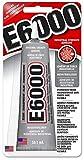 Eclectic E6000 Industriekleber, 59,1ml Tube, hitzebeständiger wasserfester Kleber, Alleskleber für...