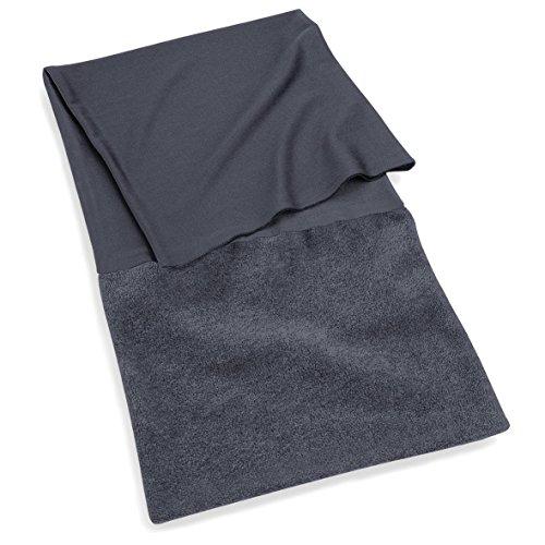 Beechfield tragbar als Mütze oder Halstuch Superfleece, Schwarz, Einheitsgröße
