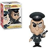 Funko Fearless Leader: Rocky & Bullwinkle x POP! Figura de vinilo de animación y 1 paquete protector gráfico de plástico PET [#451 / 33465 - B]
