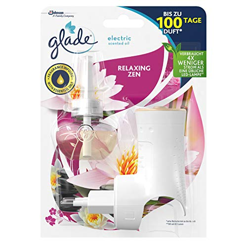 Glade Electric Scented Oil Duftstecker Starter (inkl. 1 Nachfüller) Relaxing Zen, 1er Pack (1 x 20 ml)