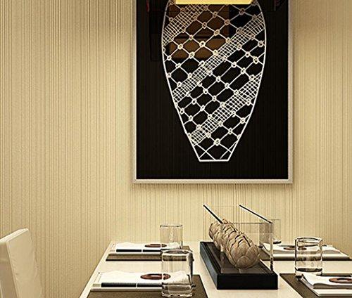 Longless Wallpaper, einfach, modern, Non-woven, Wohnzimmer, Schlafzimmer, Arbeitszimmer, dünne Streifen, Tapeten, 10*0.53M
