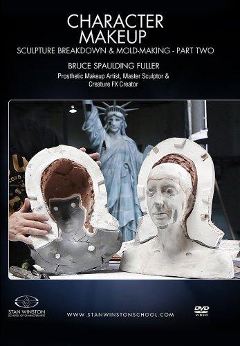 Character Makeup- Sculpture Breakdown & Molding Part 2 by Bruce Spaulding Fuller