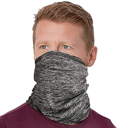 Cooling Neck Gaiter Face Mask - 12-in-1 Scarf & Head Cover / Wrap For Hot Summer Weather - UV Protection