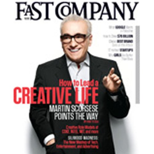 Audible Fast Company, December 2011 cover art
