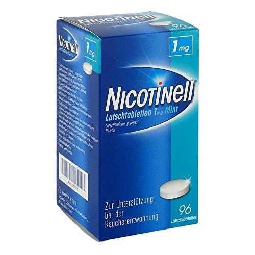 Nicotinell Lutschtabletten 1 mg Mint, 96 St. – Diskrete Unterstützung bei der Raucherentwöhnung