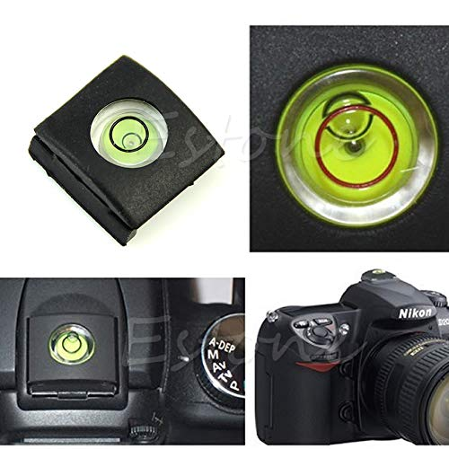 Hot schoen Bubble Spirit Level Cover Cap voor Canon Nikon Pentax Olympus camera