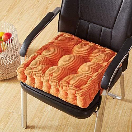 XINYUDAGE Bürostühle Liege Rollstuhl Steigkissen Verdicken Tatami Komfort Sitzpolster Boden Booster Kissen-H_45 x 45 cm (18 x 18 Zoll) Iteration