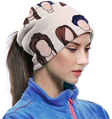 Halstuch Kopfbedeckung Gesicht Sonne Maske Magic Scarf Bandana Sturmhaube Gr. Einheitsgröße, Verschiedene Damen-Frisuren