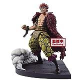 Banpresto One Piece - Eustass Kid - Figurine Log File Selection 15cm Taille Unique