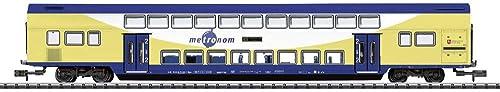 MINITRIX N TR Doppelstockwagen Metronom 2.Kl.
