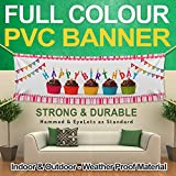 PVC BANNER SIGN 2FTx6FT FULL COLOR CUSTOM FREE DESIGN-PARTY BUSINESS BIRTHDAY WEDDING BANNER OUT DOOR DISPLAY