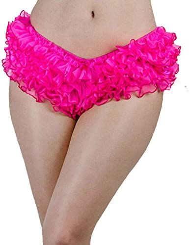 Starline Lingerie Ruffle Frilly Layers Mesh and Satin Tutu Knicker