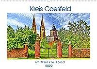 Kreis Coesfeld im Muensterland - Stadt Land Fluss (Wandkalender 2022 DIN A2 quer): Willkommen im Kreis Coesfeld, im malerischen Muensterland. (Monatskalender, 14 Seiten )