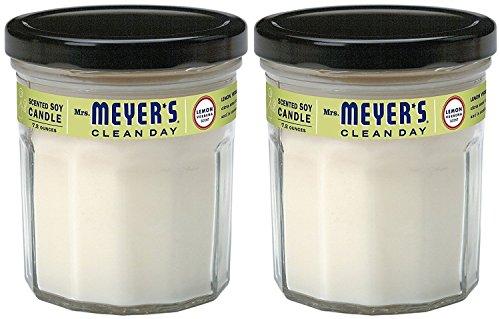 Mrs. Meyer's Clean Day Soy Candle - Lemon Verbana - 7.2 oz - 2 pk