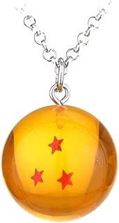 Weeck Anime Dragon Ball Z Orange Goku Dragonball Pendant Necklace