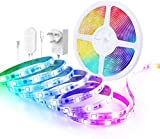 Govee RGBIC LED Strip 5m, LED Streifen Sync mit Musik, steuerbar via App, für Party, Zuhause,...