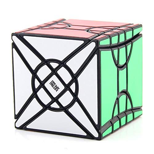 Khosd Juego De Cubo De Velocidad, Cubo De Puzle Liso, Cubo Mágico Velocidad Puzzle Twist Juguete De Plástico, Juego De Educación para Los Niños