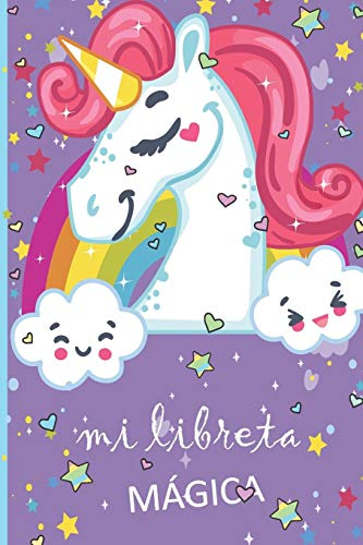 mi libreta mágica: Libreta de Unicornio Para Dibujos cuaderno de boceto diario de Unicornio regalo ideal para regreso a clases