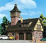 Vollmer 3756 H0 - Gerätehalle mit Turm