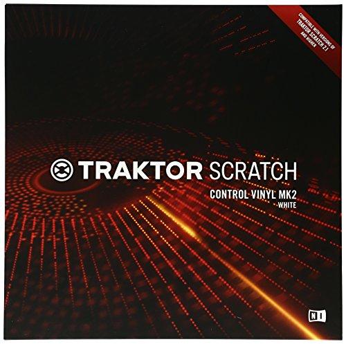 Native Instruments Traktor SCRATCH Control Vinyl MK2 weiß
