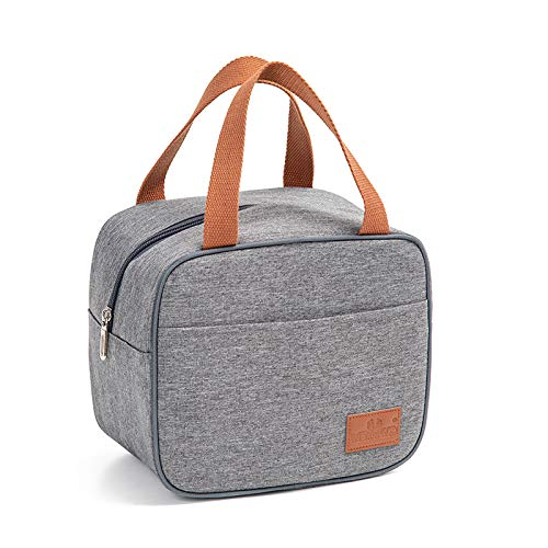Amytalk Insulated Lunch Bag for WomenMen-Reusable Lunch Box for School Office Picnic Hiking Beach - Leakproof Large Tote Bag Cooler Tote Bag Organizer with Handle strap for KidsAdults