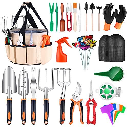 Garden Tools Set, 52Pcs Gardening Succulent Tools Kit Heavy...