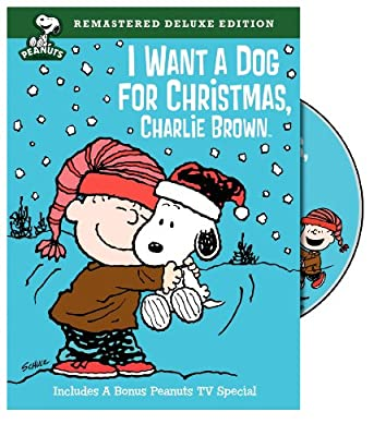 Peanuts: I Want a Dog for Christmas, Charlie Brown (Deluxe Edition) from WarnerBrothers