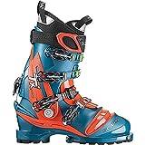 Scarpa Men's Tx Pro Telemark Ski Boot - Lyons Blue/red Orange