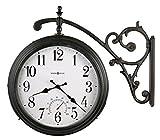 Howard Miller Luis Indoor/Outdoor Wall Clock 625-358 – Round with Quartz Movement