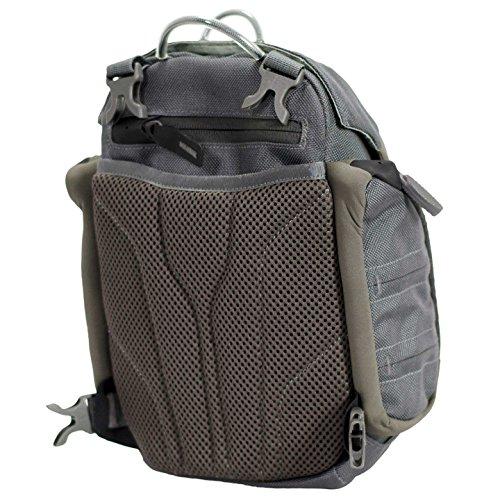 Badlands Bino XR Binocular and Rangefinder Case with Shoulder Harness, Gunmetal Gray