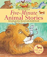 The Lion كتاب من five-minute Stories حيوانات