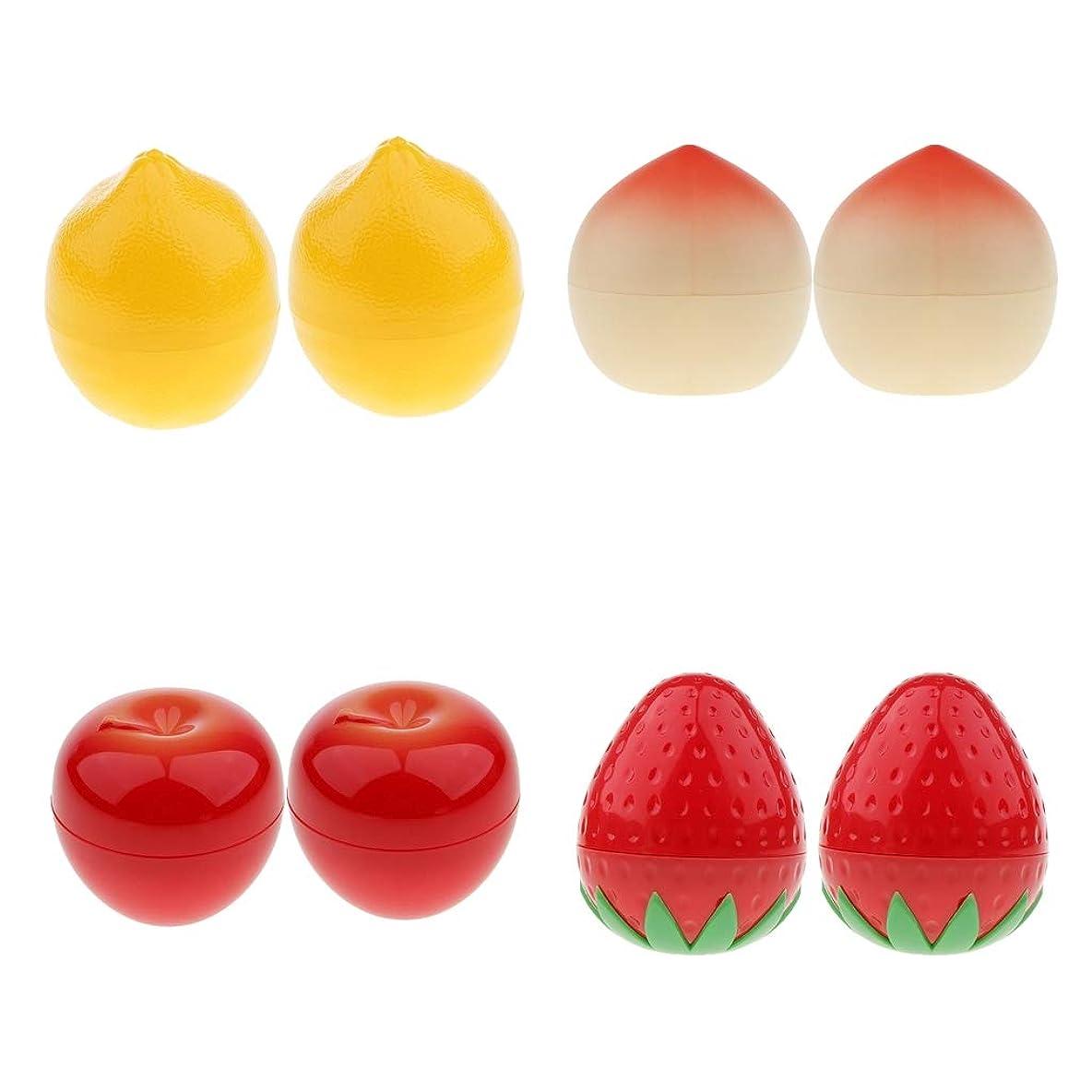 ブルゴーニュ要件通信網B Blesiya 8本 メイクアップボトル 可愛い 果物 化粧品 コスメ 小分け用 コンテナ