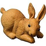 LKXZYX Intaglio del Legno Intaglio del Coniglio Artigianato Ornamenti per la Decorazione della casa del Coniglio dello Zodiaco