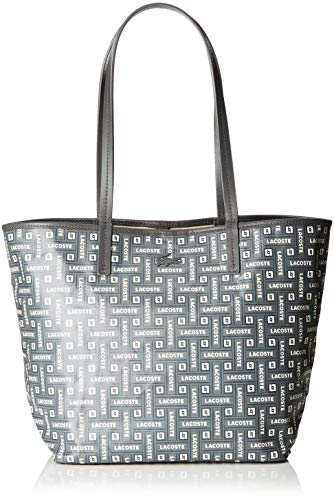 Lacoste - Nf2768cy, Shoppers y bolsos de hombro Mujer, Gris (Lacoste Blue),...
