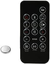 Loyeenha Remote Control for JBL Cinema Soundbar SB250 SB350 Sound Bar Speaker and Cinema Base Soundbase 2.2 with Coin Battery Inside