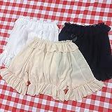 LJYNB Verano dulce melocotón mujeresLolita Slip vestido con volantes Lolita sling falbala vestido lindo vestido de frutas con blusa talla única blusa blanca