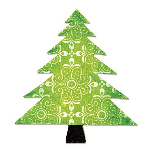 Sizzix Bigz Troquel Árbol de navidad