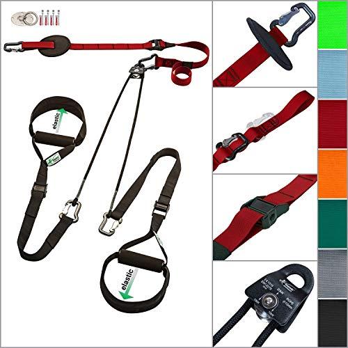 eaglefit Sling-Trainer EXCLUSIVE elastic, Suspension Training for...