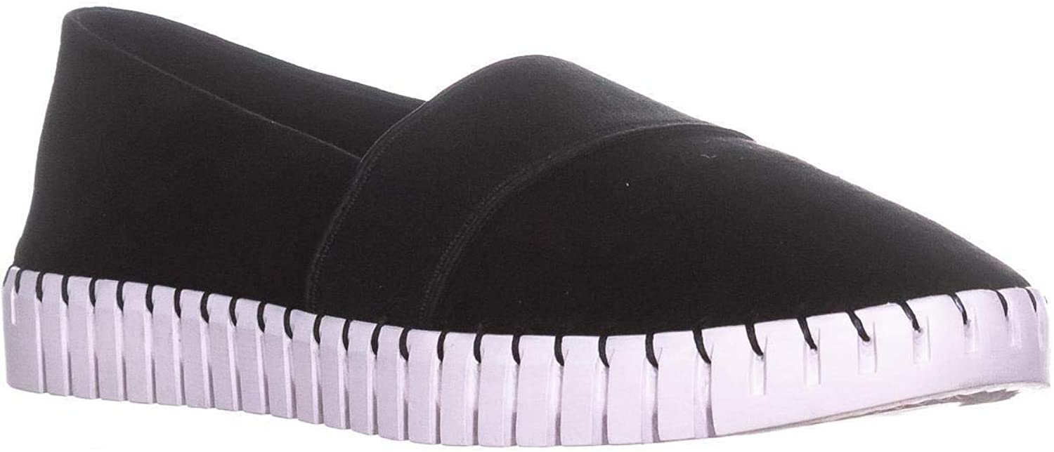 STEVEN by Steve Madden Womens Secure Suede Slip On Casual shoes