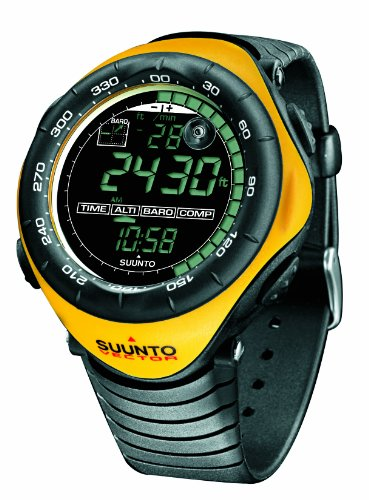 SUUNTO Vector Wrist-Top Computer Watch with Altimeter, Barometer, Compass, and Thermometer (Yellow)