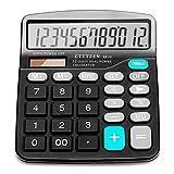 Best Basic Calculators - Calculator,12-Digit Solar Battery Basic Calculator,Solar Battery Dual Power Review