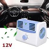 Portable Ventilateur Refroidisseur De Voiture Quiet auto Climatiseur De Refroidissement Vitesse Réglable Mini Été Refroidissement accessoires de style (12V)