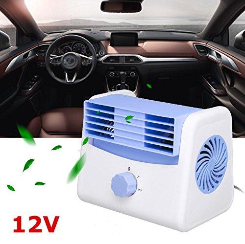 tragbare Auto Lüfter leise Geschwindigkeit einstellbar Mini Sommer Styling Zubehör (12V)