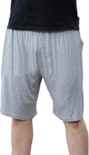 Mens Sleepwear Loungewear Pyjama Shorts Super Soft Bottoms Causal Jogging Pants Plus Size