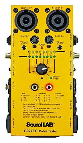 Tester di cavi universale Soundlab